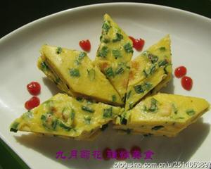 鹅蛋葱花饼
