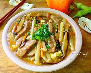 香菇肉羹汤