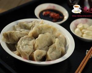 四季豆猪肉饺子