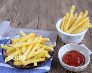 烤薯条无油版的做法_图解不用油的烤薯条怎么做