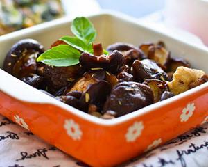 迷迭香烤香菇(空气炸锅版)