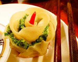 水煎玫瑰饺子(七夕特供)