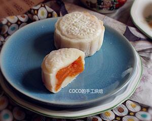 哈密瓜冰皮月饼
