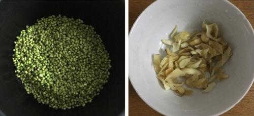 绿豆百合汤电压力锅版的做法_用电图解压力锅一日三餐食谱大全孕期图片