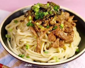 正宗上海葱油拌面的做法教你怎么做好吃