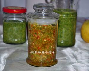 韭菜花酱的制作方法