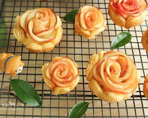 苹果玫瑰酥的制作方法