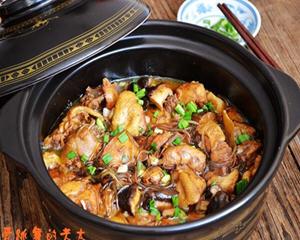 小鸡炖蘑菇砂锅版