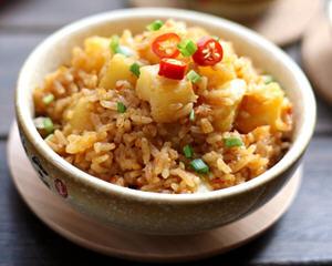 土豆焖饭电饭煲