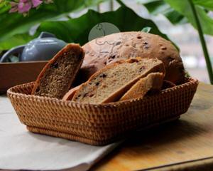 咖啡巧克力豆面包