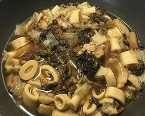 卤梅干菜桂竹笋