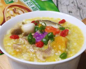 膳食香菇鸡蓉暖暖粥