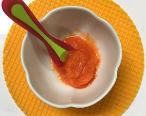 宝宝吃的红萝卜泥