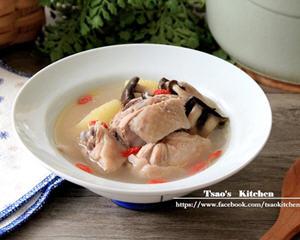凤梨菌菇鸡汤