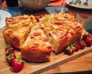 香草苹果隐形蛋糕