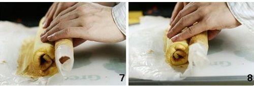 蛋糕卷怎么卷