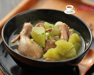 腊鸭炖莴苣