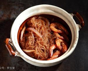 私房鲜虾粉丝煲