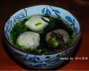 潮汕肉丸紫菜汤的家常做法