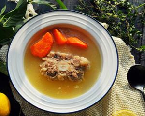 清炖牛尾汤砂锅版
