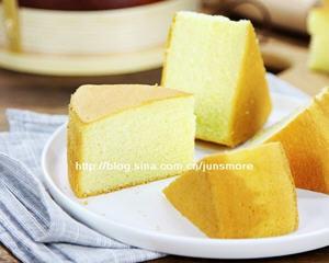 戚风蛋糕椰子油版