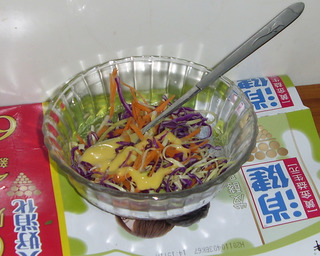 美味蔬菜沙拉的做法步骤:5