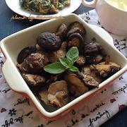 迷迭香烤香菇的做法步骤:6