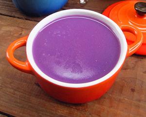 豆浆机做紫薯米糊