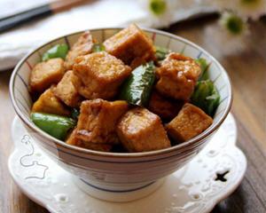 家常蚝油烧豆腐
