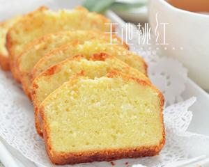 柠檬磅蛋糕的做法_图解柠檬磅蛋糕怎么做好吃