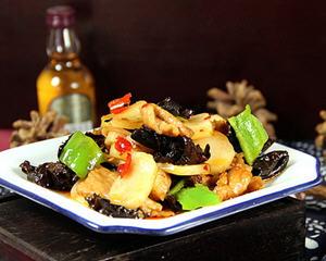 鱼香肉片炒年糕(年菜)