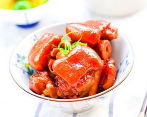 酱烧猪蹄(发菜年菜)