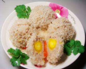 糯米咸蛋黄肉丸