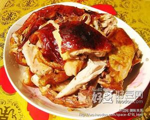 张成荣电烤鸡架烤箱版