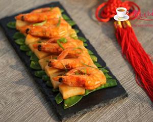 鲜虾炒年糕(春节鸿运年菜)