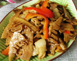 笋干炒五花肉