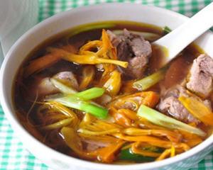 黄花菜排骨汤