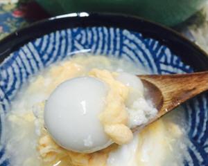 酒酿蛋花汤圆