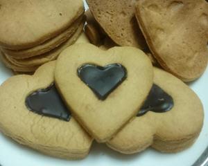 情人节心型饼干