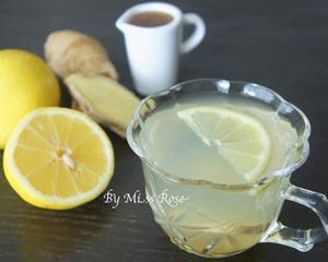 抗感冒的蜂蜜柠檬姜茶做法_图解感冒喝的蜂蜜柠檬姜茶怎么做