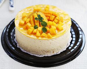 让人无法拒绝的芒果慕斯蛋糕