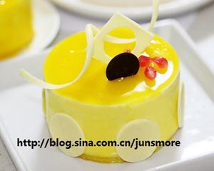 芒果奶酪慕斯蛋糕(君之版)