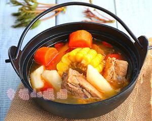 番茄玉米猪骨汤