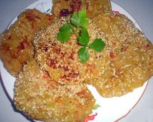 红薯煎饼电饼铛版