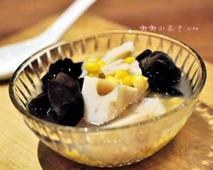 莲藕木耳玉米汤