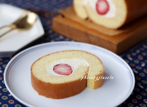 糖尿病病人能吃牛奶_舒芙蕾草莓卷的做法_图解舒芙蕾草莓卷怎么做好吃-聚餐网