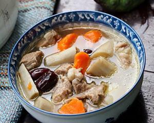 牛蒡羊肉汤的做法_图解牛蒡羊肉汤怎么做好吃