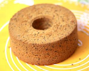 黑芝麻中空戚风蛋糕