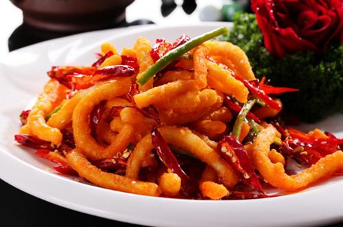 香辣鱿鱼丝是哪里的菜系?是什么地方菜