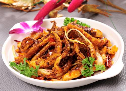 香辣鱿鱼须是什么地方的菜?属于哪个菜系?